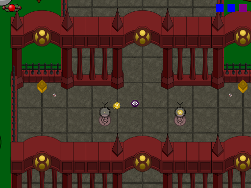 Some new sprites and some simple enemies.