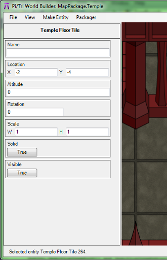 The editor now uses standard window controls instead of a custom rendered GUI.